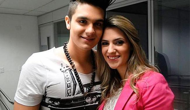 Luan Santana e Jade durante participação em programa da Globo em 2013 - Foto: TV Globo   Divulgação