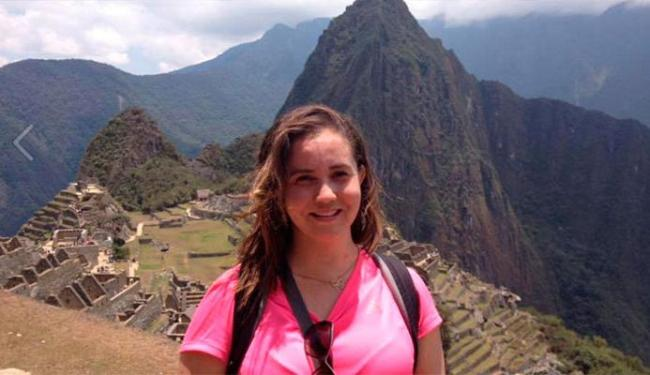 Lucilene Muniz mora em Salvador e estava entre os turistas ilhados em Machu Picchu - Foto: Reprodução   Facebook