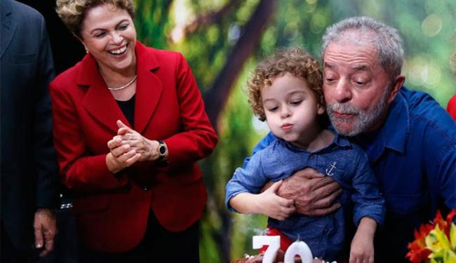 Dilma viajou para São Paulo para participar de aniversário de Lula - Foto: Ricardo Stuckert | Instituto Lula