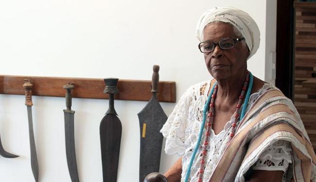 Mãe Stella de Oxóssi é uma das homenageadas do evento - Foto: Lúcio Távora | Ag. A TARDE