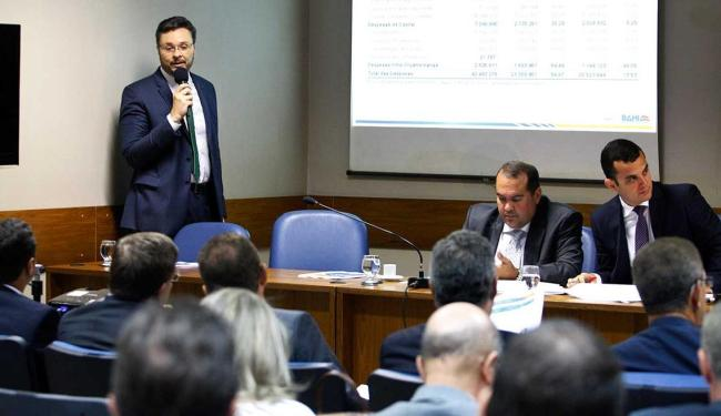 Apresentação aconteceu durante audiência na Assembleia Legislativa - Foto: Luciano da Matta | Ag. A TARDE