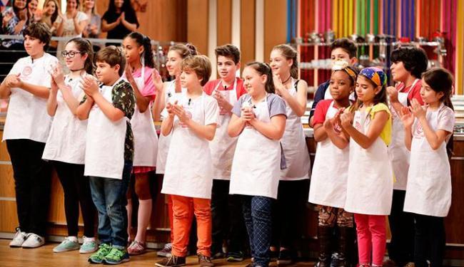 Crianças mostraram que entendem muito de cozinha no primeiro episódio do programa - Foto: Divulgação