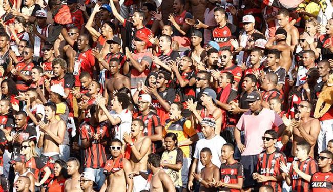 Média de público no Barradão, na Série B deste ano, é de 9.817 pagantes - Foto: Fernando Amorim   Ag. A TARDE