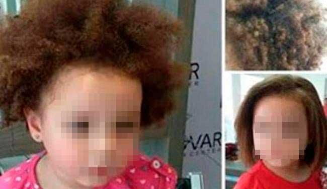 Post com o cabelo da criança foi apagado após críticas - Foto: Reprodução