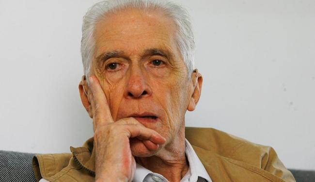 Historiador e professor Moniz Bandeira - Foto: Haroldo Abrantes   Ag. A TARDE   15.09.2009