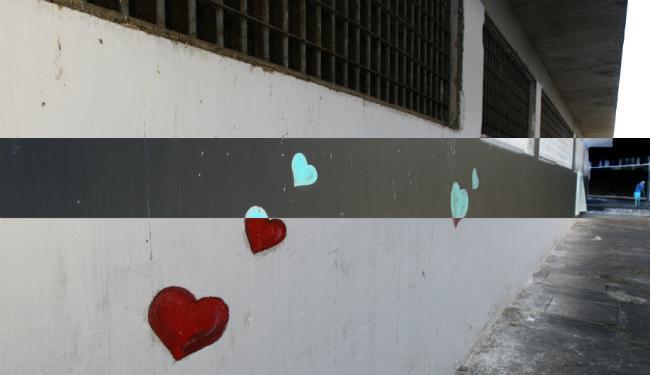 Pátio do Conjunto Penal Feminino, na Mata Escura, em Salvador - Foto: Fernando Vivas | Ag. A TARDE