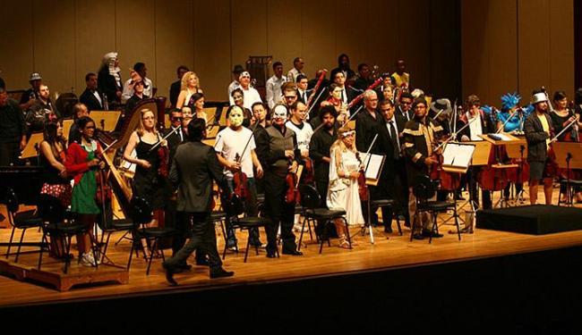 Os músicos da Osba voltam a se fantasiar de personagens do cinema - Foto: Fernando Amorim l Ag. A TARDE