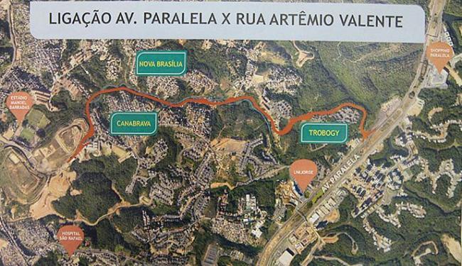 Previsão de conclusão Obra da Via Paralela-Barradão deve durar 1 ano e meio - Foto: Mila Cordeiro | Ag. A TARDE