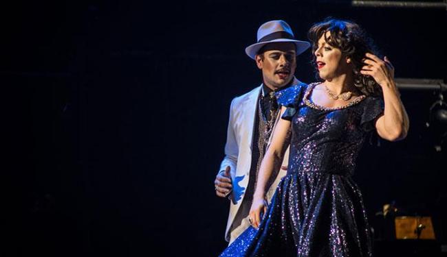 Uma das cenas do musical Ópera do Malandro - Foto: Prime | Divulgação