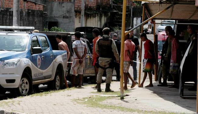 Operação teve sete pessoas presas em flagrante e cinco mandados de prisão cumpridos - Foto: Edilson Lima   Ag. A TARDE