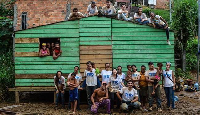 Financiamento coletivo possibilita ONG e comunidades para construção de casas - Foto: Divulgação