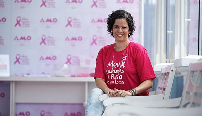 Paula Dultra notou alteração na mama durante um autoexame - Foto: Raul Spinassé | Ag. A TARDE