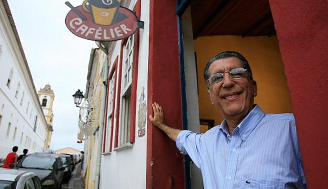 Paulo Vaz diz que o bairro do Santo Antônio tem um jeito único - Foto: Fernando Amorim l Ag. A TARDE