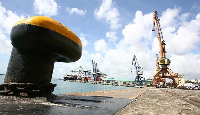 Dados mostram que a crise parece não ter chegado aos portos baianos - Foto: Fernando Amorim   Ag. A TARDE