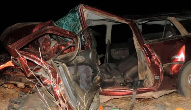 O motorista da Parati acabou morrendo no local e outras seis pessoas ficaram feridas - Foto: Reprodução | Sigi Vilares