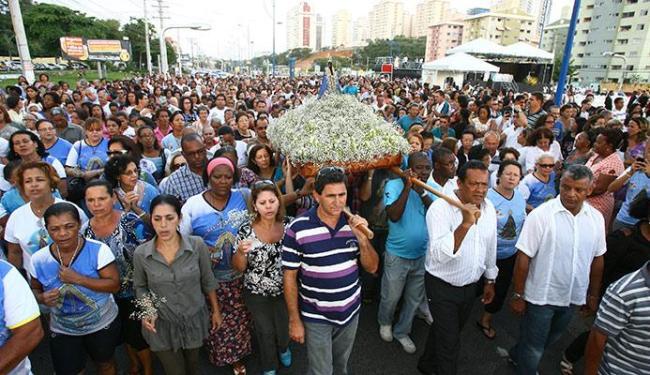Tradicional procissão no Imbuí vai acontecer às 16h - Foto: Fernando Amorim | Ag. A TARDE