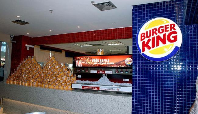 Rede Burger King quer inaugurará unidade em um shopping de Camaçari - Foto: Divulgação   Burger King