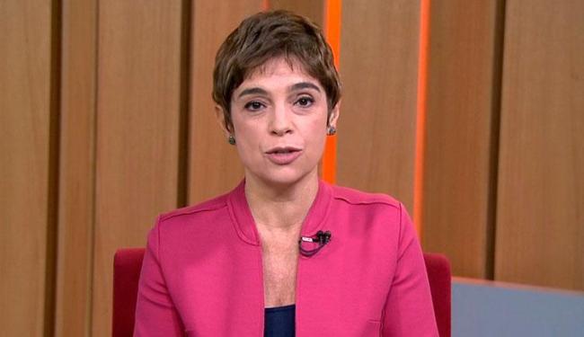 Renata está na emissora desde 2012, quando saiu do jornal Folha de S. Paulo - Foto: Reprodução | TV Globo