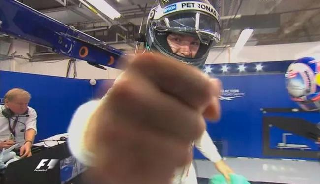 Tempo do Q2 garantiu pole para Rosberg - Foto: Divulgação