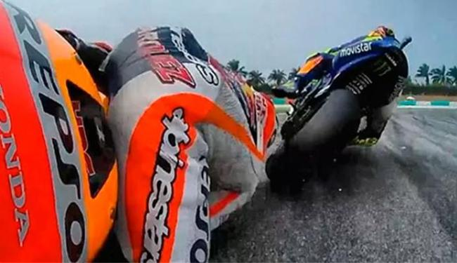 Com punição, Rossi pode perder chance de conquistar título do MotoGP - Foto: Reprodução   Instagram