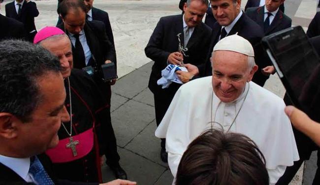 Rui Costa esteve no Vaticano e se encontrou com o Papa - Foto: Divulgação   Secom-BA