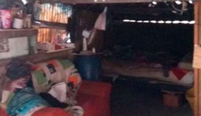 Menina morava de favor com a mãe na casa de um idoso em cidade no interior de São Paulo - Foto: Divulgação   Conselho Tutelar de Tatuí