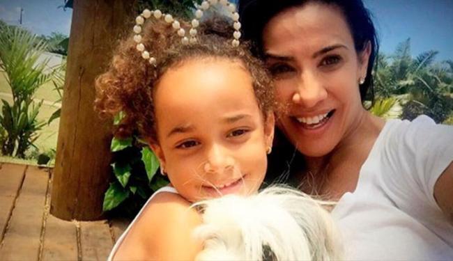 Scheila já é mãe de Giulia, de 5 anos - Foto: Reprodução   Instagram