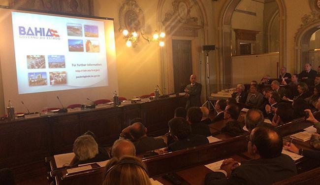 Bahia foi tema de seminário durante visita do governador a Milão, na Itália - Foto: Divulgação l GovBA