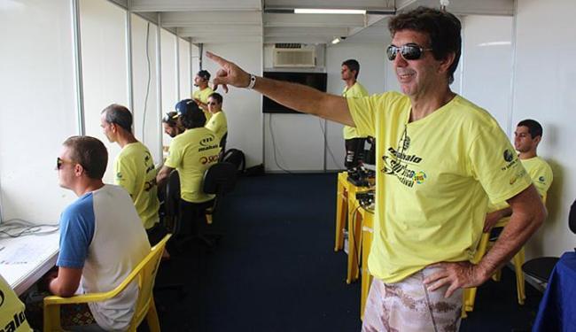 Sérgio Gadelha é o 'head judge', ou chefe dos juízes, do torneio pela 2ª divisão do surfe mundial - Foto: Victor Kruschewsky l Divulgação