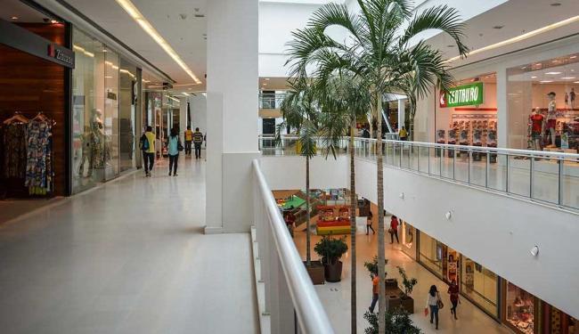Maioria dos shoppings de Salvador tem funcionamento normal - Foto: Erik Salles | Ag. Servphoto