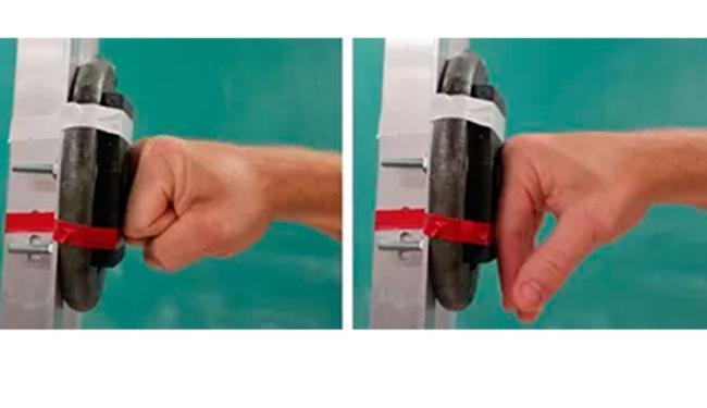 Experimento analisa diferença entre soco com mão fechada e semi-aberta - Foto: Divulgação | David Carrier | University of Utah