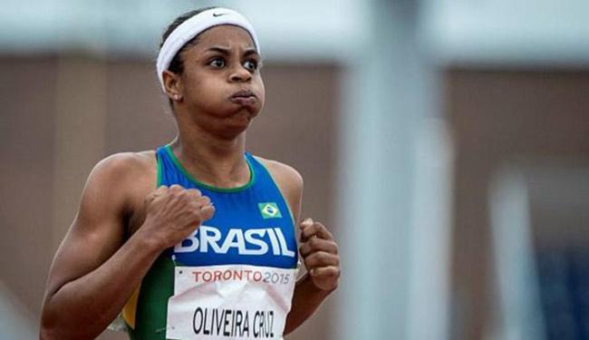 Tascitha Oliveira é candidata a medalha nos 200 m T35 - Foto: Comitê Paralímpico Brasileiro l Divulgação