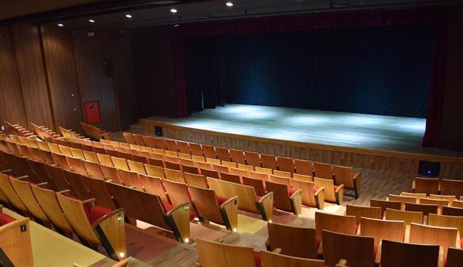 Interior do Teatro da Cidade, que ocupa área de 490 m² - Foto: Divulgação