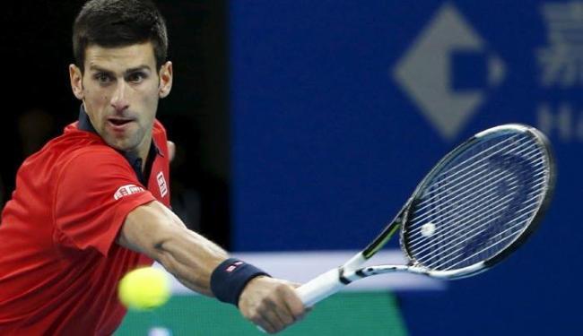 Djokovic acumula agora 27 vitórias em 27 jogos disputados em seis edições da competição chinesa - Foto: Kim Kyung-Hoon | Agência Reuters