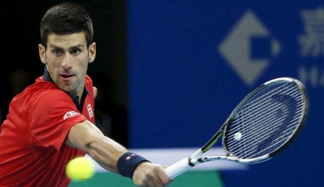 Líder da ATP, o sérvio agora tem mais do que o dobro dos pontos do segundo colocado - Foto: Kim Kyung-Hoon | Agência Reuters