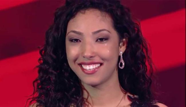 Adna Souza escolheu Michel Teló como técnico - Foto: Reprodução | TV Globo