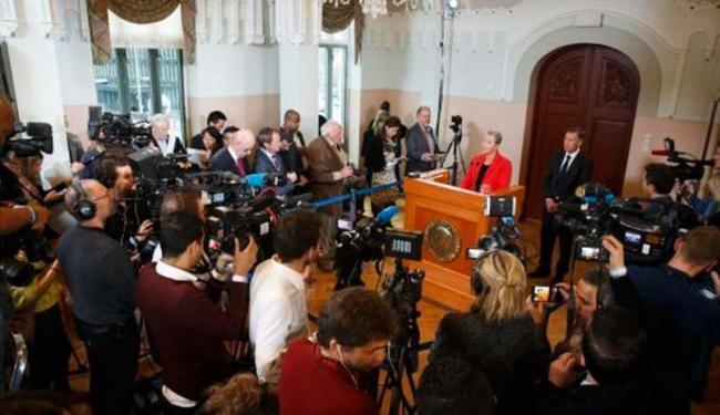 Vencedor do Prêmio Nobel da Paz 2015 é anunciado - Foto: Heiko Junge | Agência Lusa