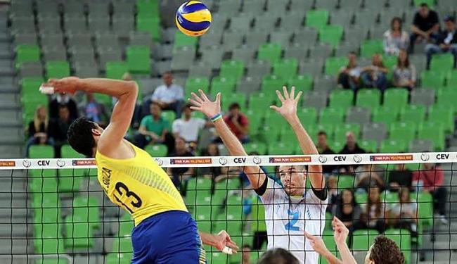 Itália, EUA, Argentina e Bulgária aparecem na sequência - Foto: Brane Macek   CBV   Divulgação