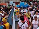 Cerca de 4 mil mulheres negras marcham contra o racismo - Foto: Divulgação | @botecofeminista