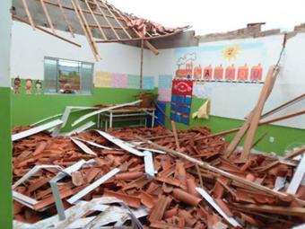 Moradores da região acusam a escola de falta de manutenção - Foto: Reprodução | Youtube