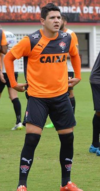 O jogador foi expulso na partida contra o Paraná, na Arena Fonte Nova - Foto: Francisco Galvão   ECV   Divulgação