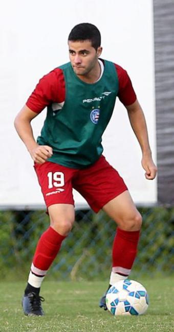 Eduardo projeta repetir gol e assistências em duelo com o Boa - Foto: Felipe Oliveira l E.C. Bahia