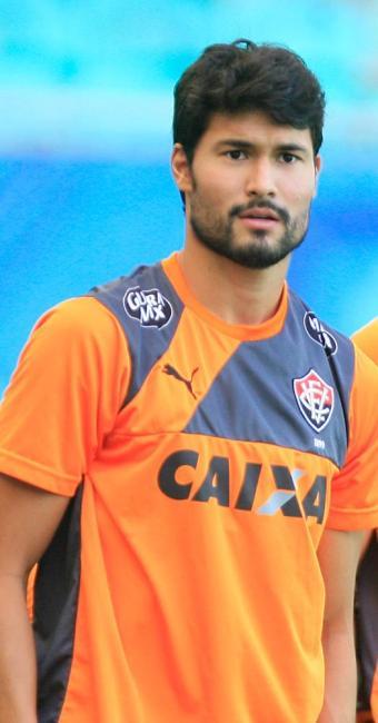 Capitão do rubro-negro, meia busca a segunda subida pelo clube - Foto: Fernando Amorim   Ag. A TARDE