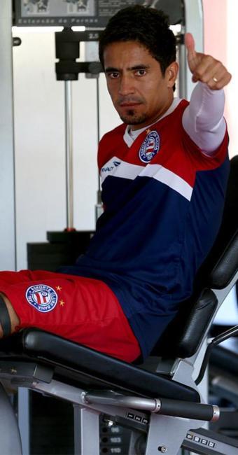 Contrato de Pittoni acaba no fim do ano. Na próxima semana, ele volta ao Paraguai - Foto: Felipe Oliveira l E.C. Bahia