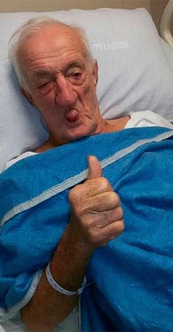 Russo está bem, estável, mas segue internado no Centro de Terapia Intensiva (CTI) do hospital - Foto: Reprodução | Facebook