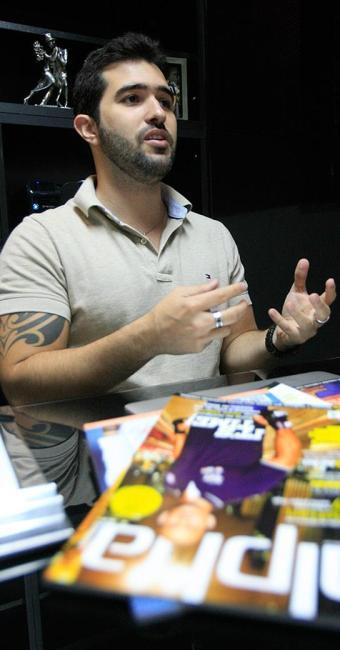 Vítor Urpia, sócio-diretor da Rede Alpha Fitness - Foto: Luciano da Matta l Ag. A TARDE