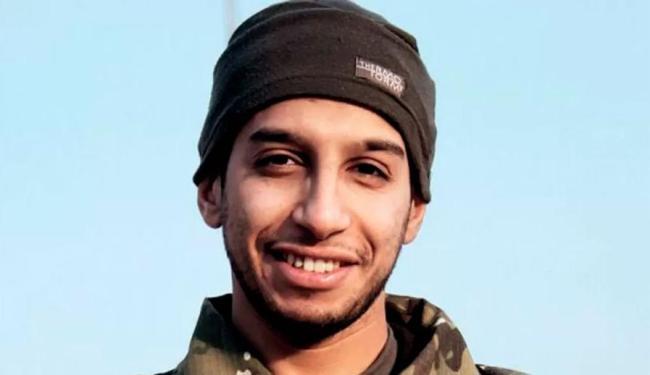Abdelhamid Abaaoudm foi identificado por exame de DNA - Foto: Social Media Website | Agência Reuters