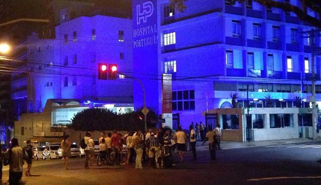 Acidente aconteceu em frente ao hospital Português - Foto: Morena Morgana | Ag. A TARDE