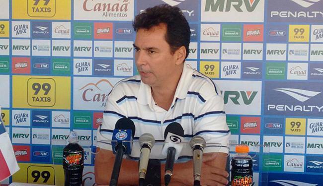 Alexandre Faria deu explicações depois de ser demitido - Foto: Divulgação l E.C. Bahia