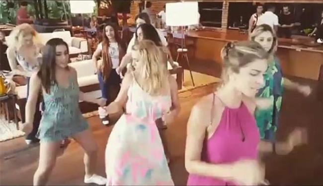 Angélica assiste coreografia de Grazi, Carol e Anitta - Foto: Reprodução   Instagram